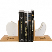 FENDER Tele Body Bookends, White