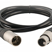 CHAUVET-PRO EPIX unshielded cable 4-pin XLR Extension 16in