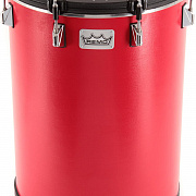 REMO BH-0014-A1- Bahia Bass Drum, 14` Diameter, 21` Height, Fabric Gypsy Red